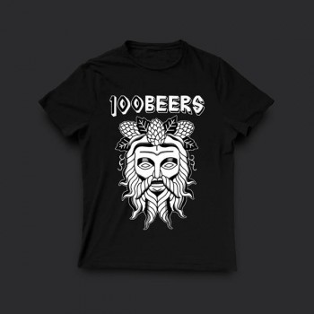 Тениска 100 Beers - Vladi Deathmag Tattoo
