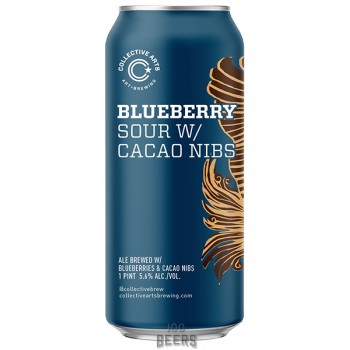 Collective Arts Blueberry Sour with Cacao Nibs
