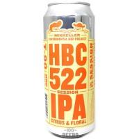 Mikkeller Experimental Hop Project: HBC 522