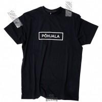 Põhjala тениска черна