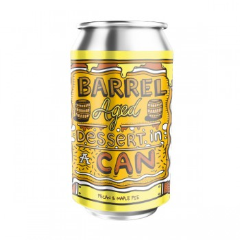 Amundsen Barrel Aged Dessert in a Can - Pecan Maple Pie