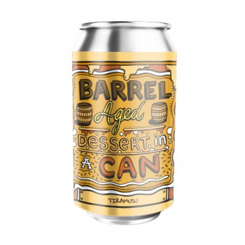 Amundsen Barrel Aged Dessert in a Can - Tiramisu